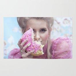 Let them eat cake - a modern Marie Antoinette Rug