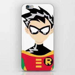 Teen Titans Robin Portrait iPhone Skin