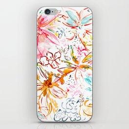 botanical study iPhone Skin
