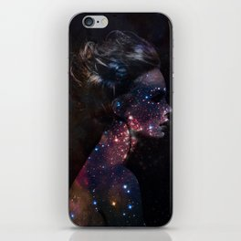 Galaxy Eyes iPhone Skin