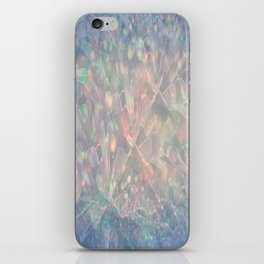 Sparkling Crystal Maze Abstract iPhone Skin