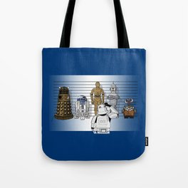 Star Wars Droid Lineup Tote Bag