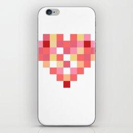 Squares of Love iPhone Skin