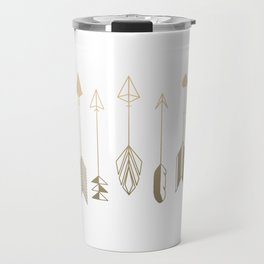 Be Brave Little Arrow (gold) Travel Mug