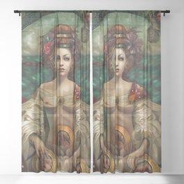 Dollhouse Sheer Curtain