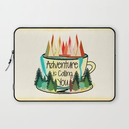 Adventure is Calling You Laptop Sleeve