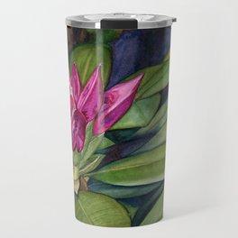 Rhododendron Bud Travel Mug