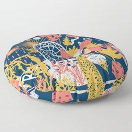 Patio to Paradise Floor Pillow
