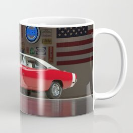 Red Dod ge Charger 1970 Ultra HD Coffee Mug
