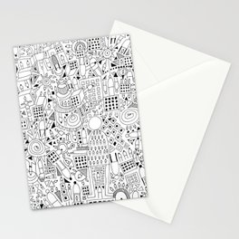 Frenetic City Stationery Cards