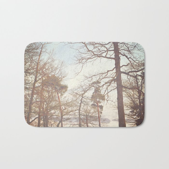 Winter Trees. Bath Mat