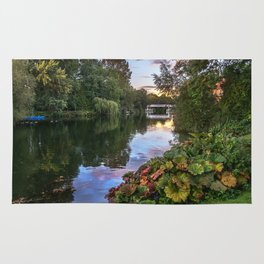 The Thames At Pangbourne Rug