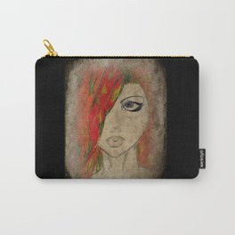 Grunge Red Carry-All Pouch