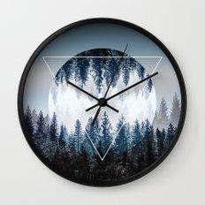 Woods 4 Wall Clock