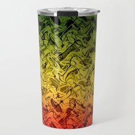 Rasta Fire Travel Mug