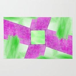 Abstract Wall and Sky Rug