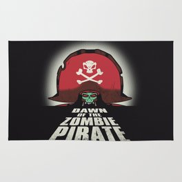 Dawn of the Zombie Pirate Rug