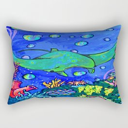Mr. Ray Rectangular Pillow