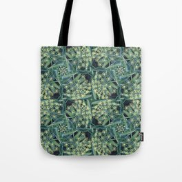 Green Herb Garden, Dill Flowers Tote Bag