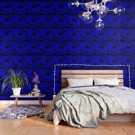Expansion Blue rose flower Wallpaper