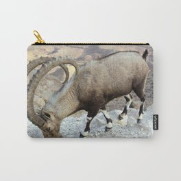 Nubian Ibex Carry-All Pouch