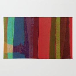 Strips on MDF Board Rug