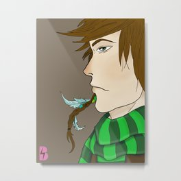 Indie Kid. Metal Print