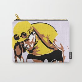 The yellow jersey (retro style cycling) Carry-All Pouch
