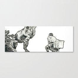 jurassic Canvas Print