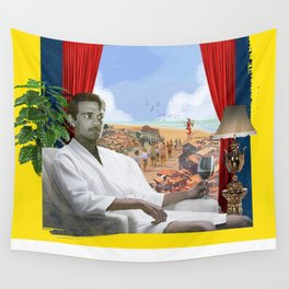 [FRANK] Omar Sharif and The Pied Piper of Hamelin Wall Tapestry