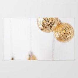 Golden Ornaments Rug