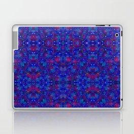 """NeonBlue Peace Rose"" by surrealpete Laptop & iPad Skin"