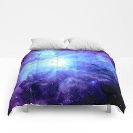 NEBula Purple Periwinkle Blue Comforters