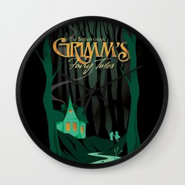 Grimm's Fairy Tales by The Brothers Grimm Wall Clock