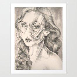 I Turn Myself Inside Out Art Print