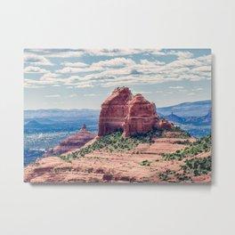 Sedona Red Rocks Metal Print