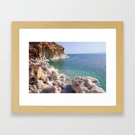Salty Banks Framed Art Print