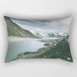 Backside Lake Rectangular Pillow