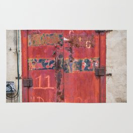 In the Door series, from my street photography/doors collection Rug