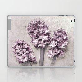 Delicate Hyacinths Laptop & iPad Skin