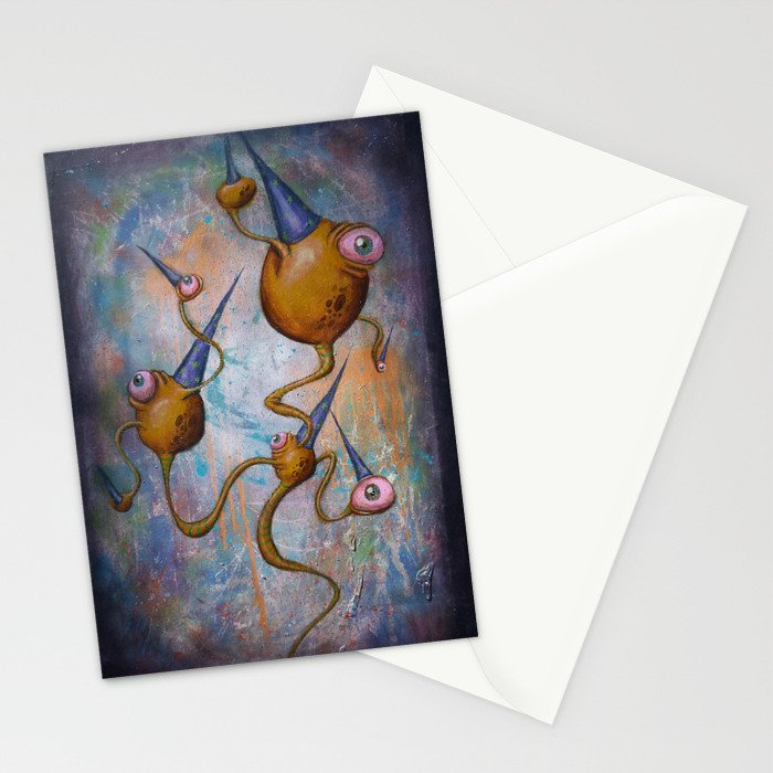 Party Pete is not Discrete!  Stationery Cards