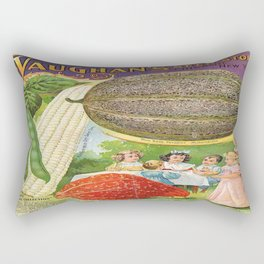 Vintage poster - Vaughan's Seed Store Rectangular Pillow