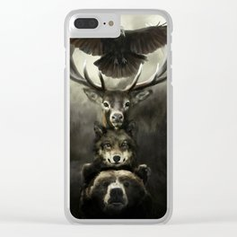 Totem Clear iPhone Case