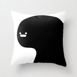 believe in burp Throw Pillow