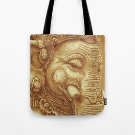 Ganesha orange Tote Bag