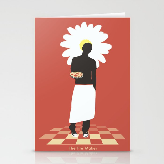 The Pie Maker Stationery Cards