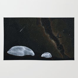 astral jelly Rug