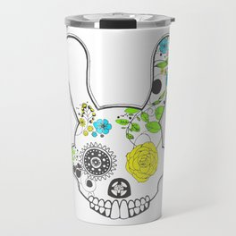 Suger Skull R abbit Travel Mug