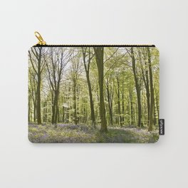 Bluebells of Micheldever Wood Carry-All Pouch