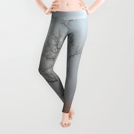 In a Fog - Mystical Morning in the Great Smoky Mountains Leggings